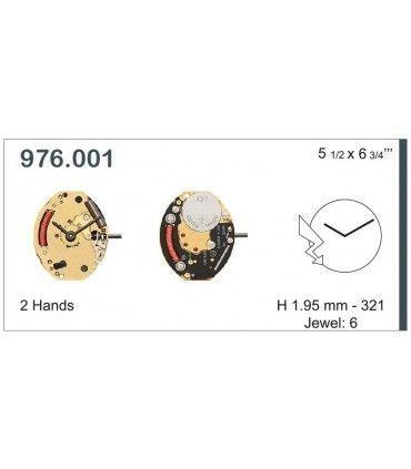 Mecanisme montre Ref ETA976001