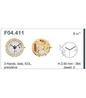 Máquina o movimiento para reloj ETA F04.111