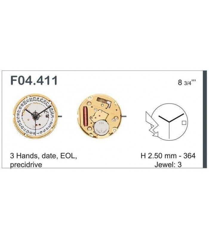 vements de montre, ETA F04.111