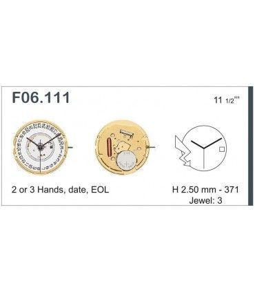 Mecanisme montre Ref ETAF06111