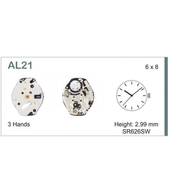 vements de montre, HATTORI AL21