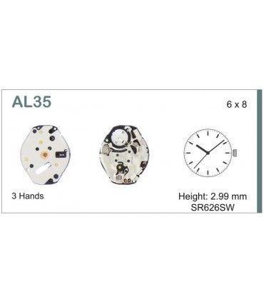 Maquinaria de reloj Ref SEIKO AL35