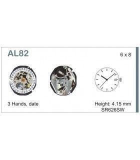 Máquina o movimiento para reloj HATTORI AL82