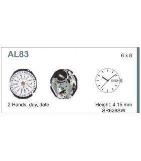 Movement for watches, HATTORI AL83