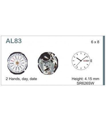 Maquinaria de reloj Ref SEIKO AL83