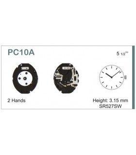 Uhrwerke, HATTORI PC10