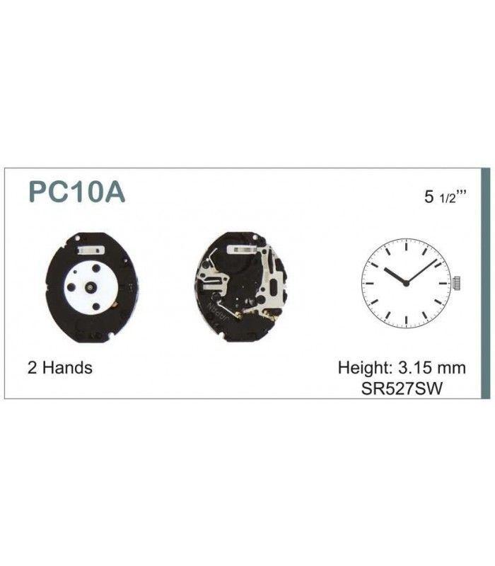 Máquina o movimiento para reloj HATTORI PC10