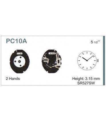 Maquinaria de reloj Ref SEIKO PC10