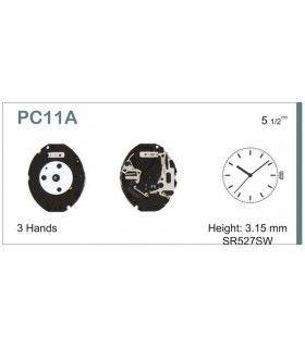 Máquina o movimiento para reloj HATTORI PC11