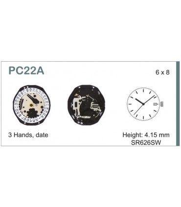 Maquina de relogio Ref SEIKO PC22