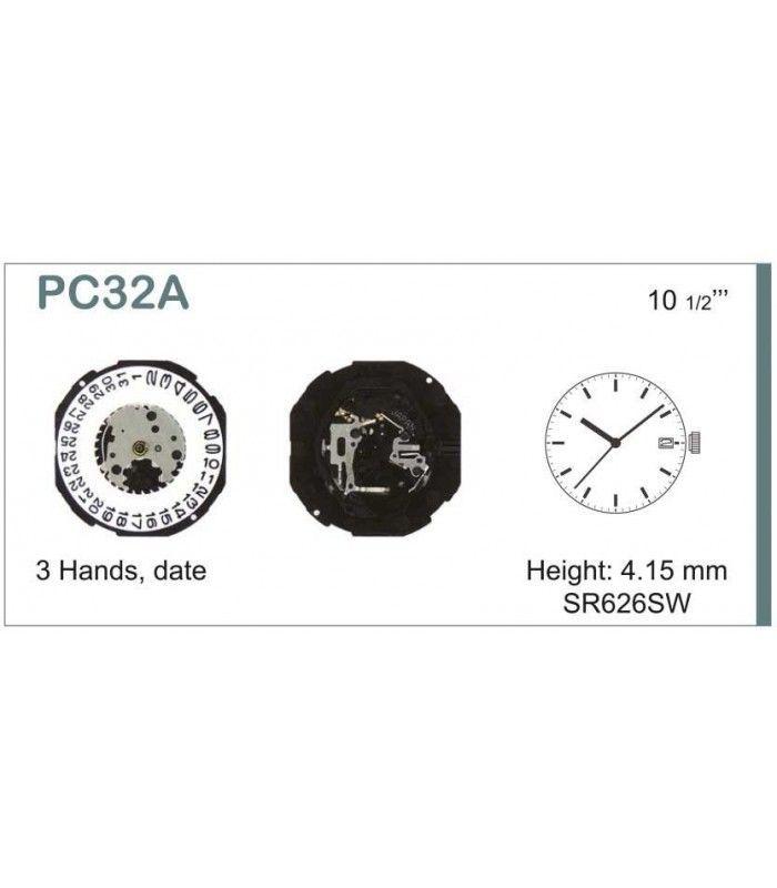 vements de montre, HATTORI PC33