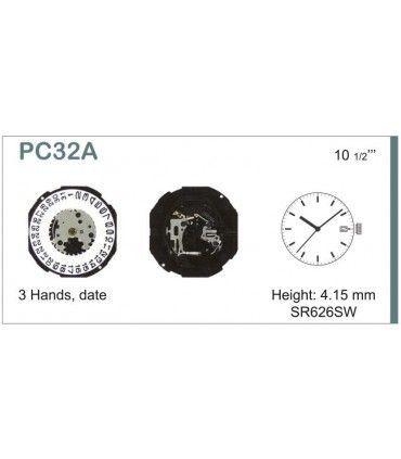 Uhrwerke Ref SEIKO PC32