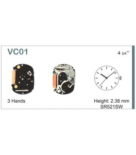 Uhrwerke Ref SEIKO VC01