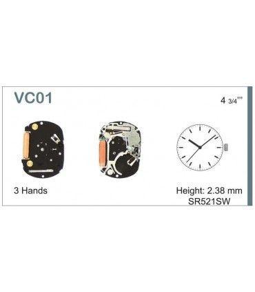 Mecanisme montre Ref SEIKO VC01