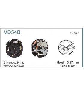 Maquinaria de reloj Ref SEIKO VD54