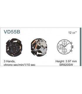 Maquinaria de reloj Ref SEIKO VD55
