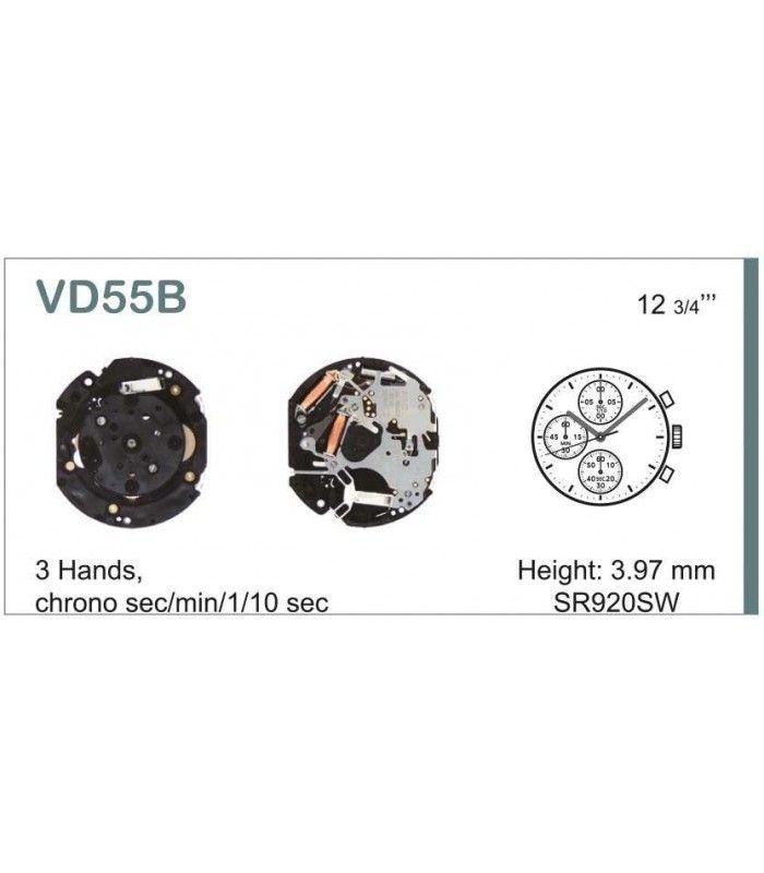 Meccanismo Orologio Ref SEIKO VD55