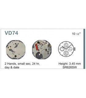 Uhrwerke Ref SEIKO VD74