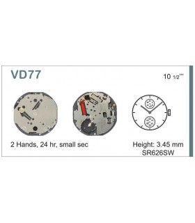 Uhrwerke Ref SEIKO VD77