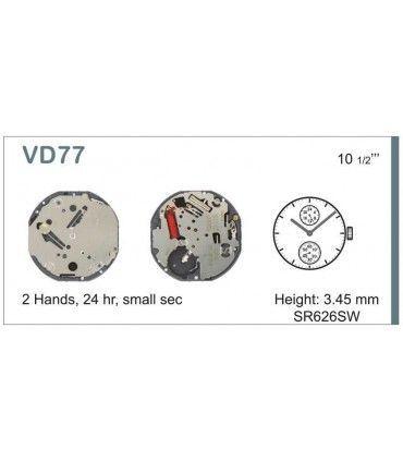 Mecanisme montre Ref SEIKO VD77