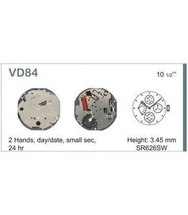 Maquinaria de reloj Ref SEIKO VD84