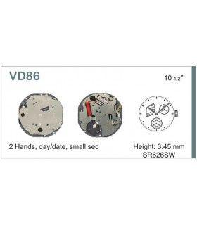 Mecanisme montre Ref SEIKO VD86
