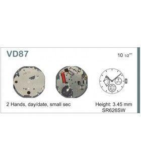 Máquina o movimiento para reloj HATTORI VD87