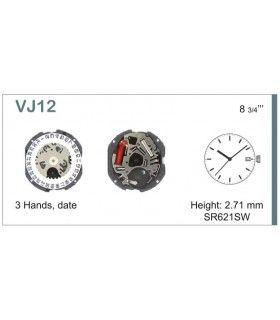 Máquinas ou movimentos para relógio, HATTORI VJ12