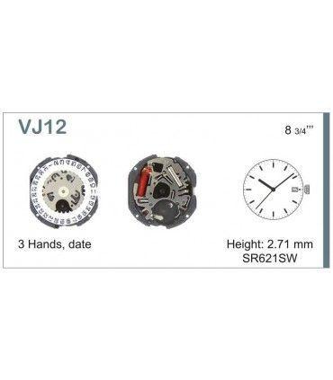 Maquinaria de reloj Ref SEIKO VJ12