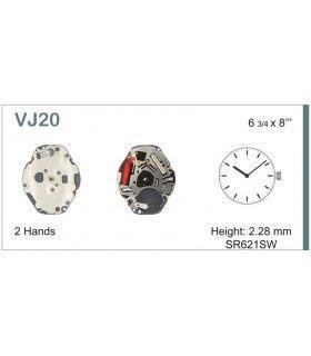 Máquinas ou movimentos para relógio, HATTORI VJ20
