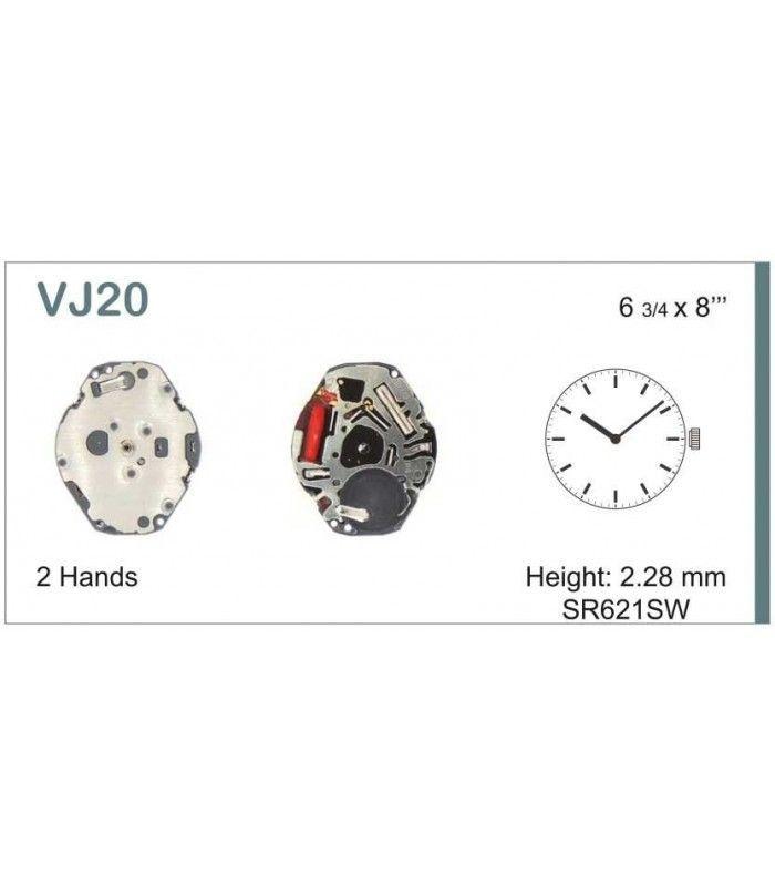 Uhrwerke, HATTORI VJ20