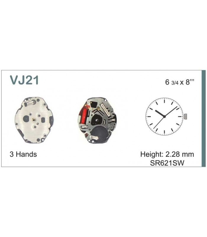 Uhrwerke, HATTORI VJ21