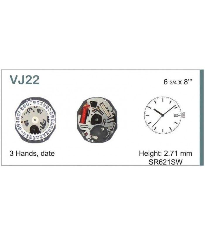 Máquina o movimiento para reloj HATTORI VJ22