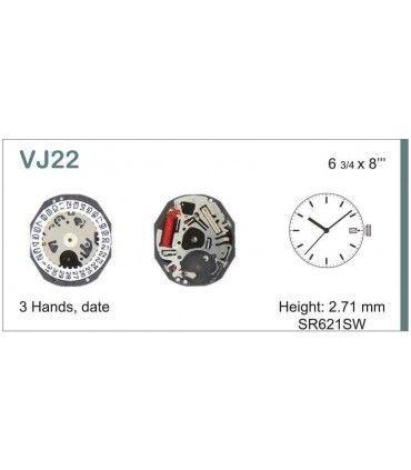 Maquinaria de reloj Ref SEIKO VJ22