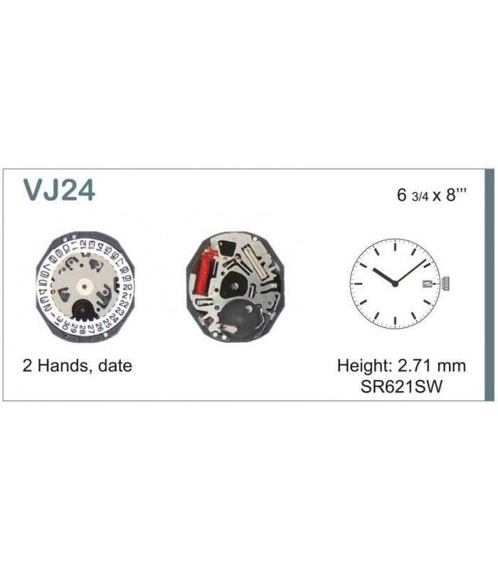 Máquina o movimiento para reloj HATTORI VJ24