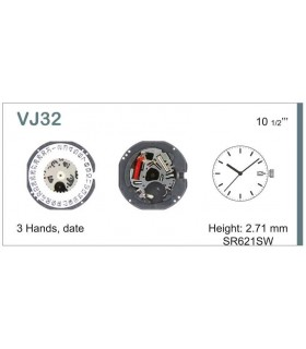 Uhrwerke Ref SEIKO VJ32