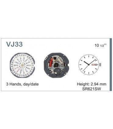 Mecanisme montre Ref SEIKO VJ33