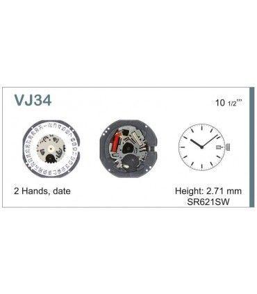 Maquinaria de reloj Ref SEIKO VJ34