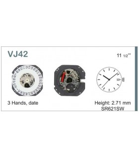 Maquinaria de reloj Ref SEIKO VJ42