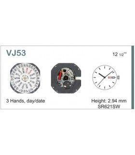 Máquinas ou movimentos para relógio, HATTORI VJ53