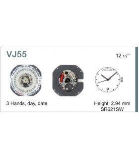 Mecanisme montre Ref SEIKO VJ55