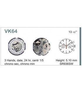 Meccanismo Orologio Ref SEIKO VK64