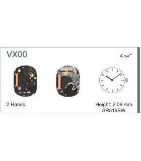 Máquinas ou movimentos para relógio, HATTORI VX00