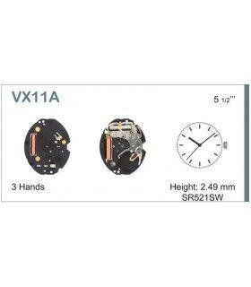 Máquinas ou movimentos para relógio, HATTORI VX11