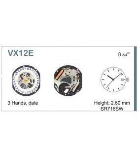 Máquinas ou movimentos para relógio, HATTORI VX12