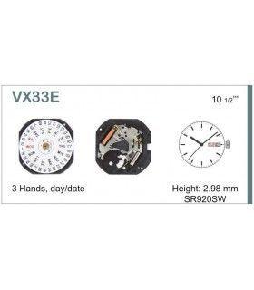 Maquinaria de reloj Ref SEIKO VX33