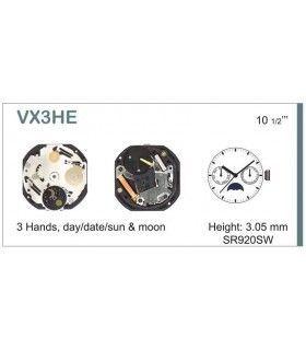 Máquina o movimiento para reloj HATTORI VX3H