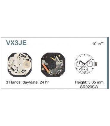 Meccanismo Orologio Ref SEIKO VX3J