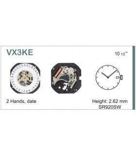 Máquinas ou movimentos para relógio, HATTORI VX3K