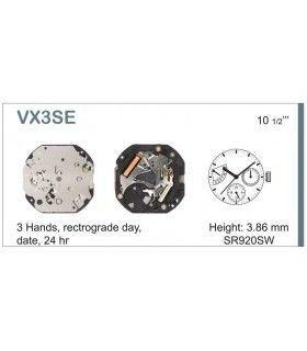 Maquinaria de reloj Ref SEIKO VX3S